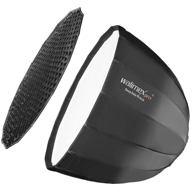 Walimex pro Studio Line Deep Rota Softbox QA90 Hensel EH/Ric