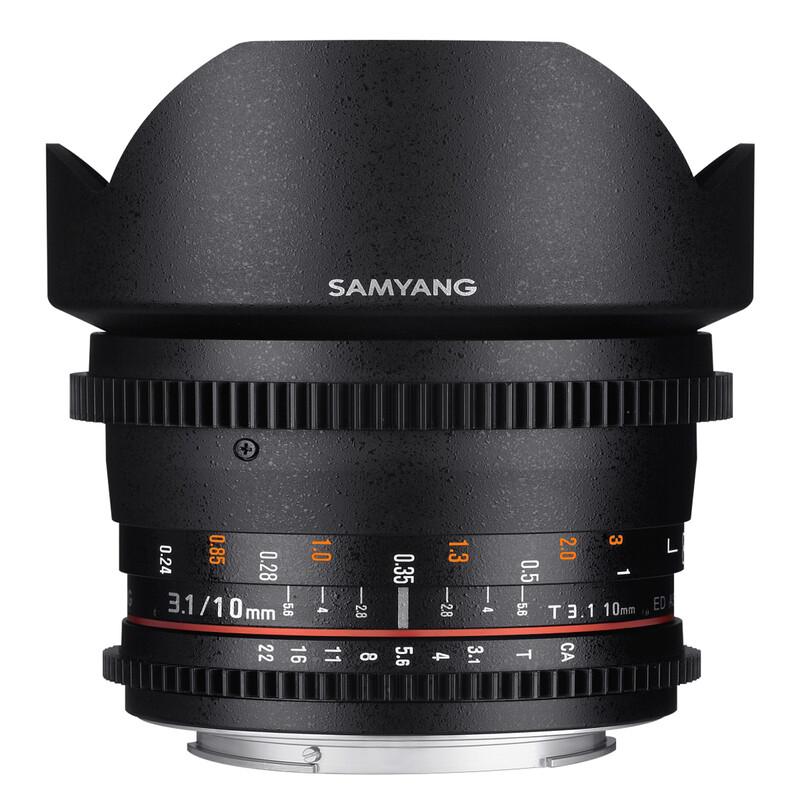 Samyang MF 10/3,1 Video APS-C Fuji X