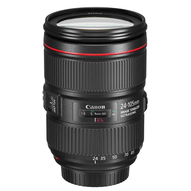 Canon EF 24-105/4,0L IS II USM -100,-€ Sofortrabatt
