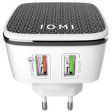 IOMI Wallcharger QC 3.0 schwarz