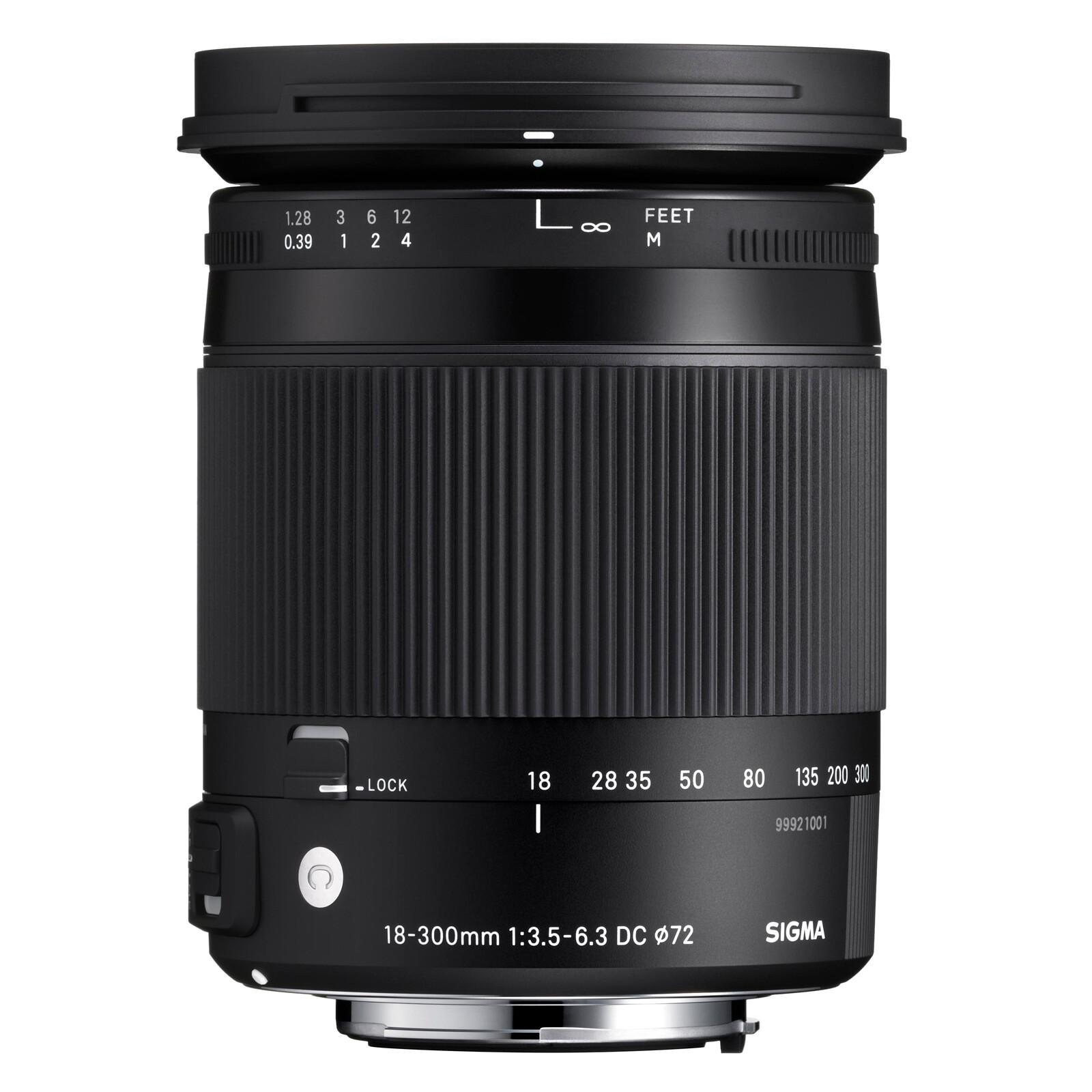 Sigma 18-300/3,5-6,3 DC OS HSM Sigma + UV Filter