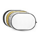 GODOX Reflektor Disc 5-in-1 gold, silver,black,white,translu