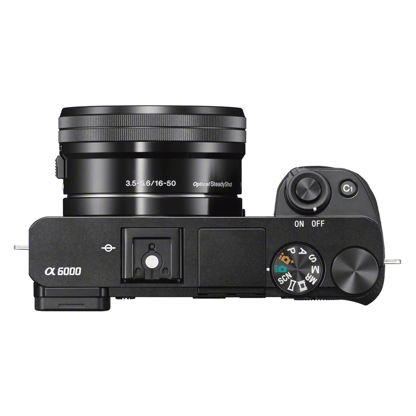 Sony ALPHA 6000 + SELP 16-50/3,5-5,6 OSS PZ Schwarz