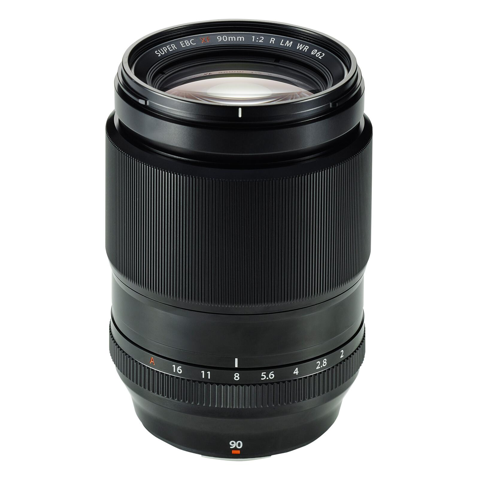 Fujinon XF-90/2.0R LM WR + UV Filter