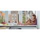 Securit Fensterschablone Kinder mit Kreidestift A2 3er