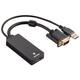 Hama 133493 VGA Audio-Konverter HDMI