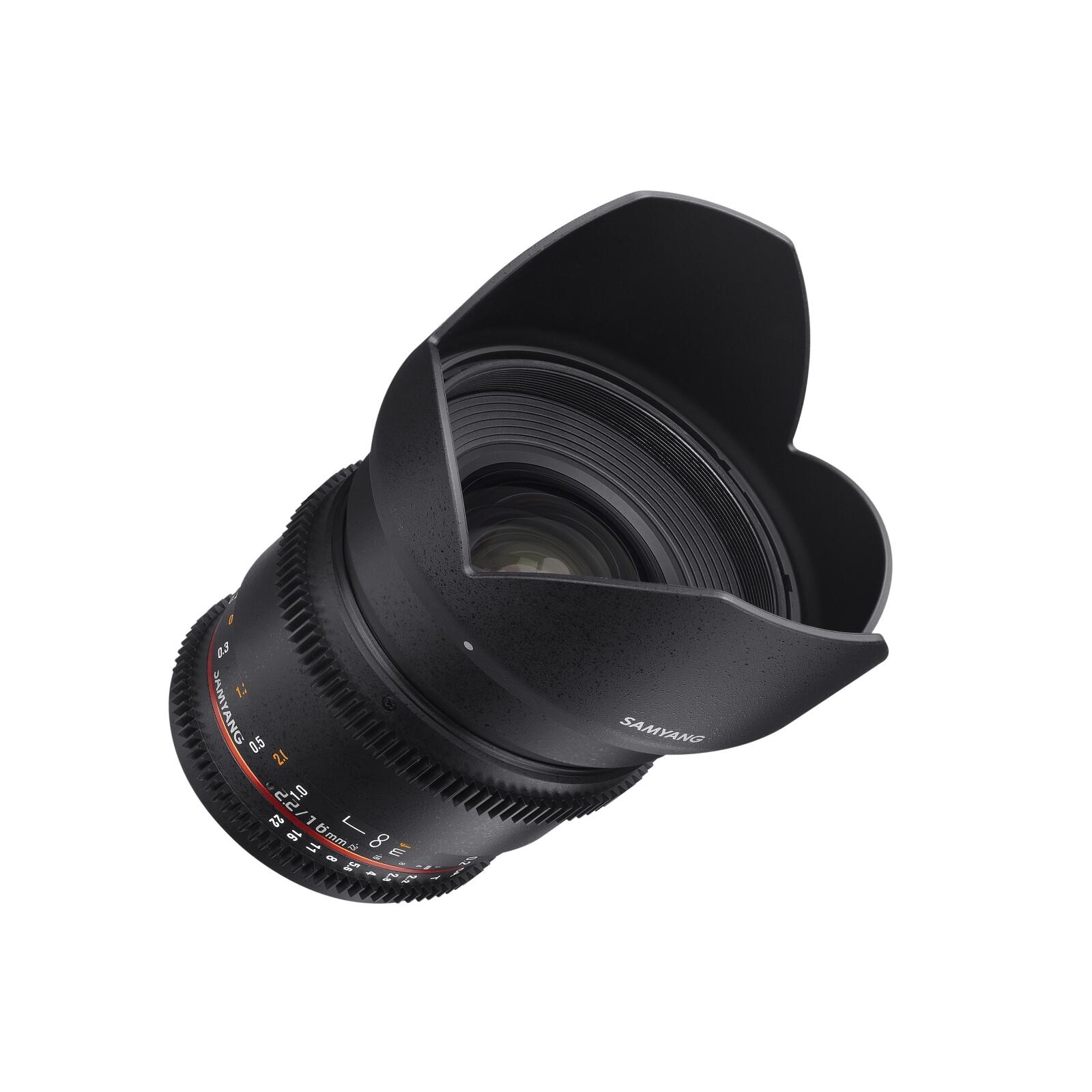 Samyang MF 16/2,2 Video APS-C II Nikon F