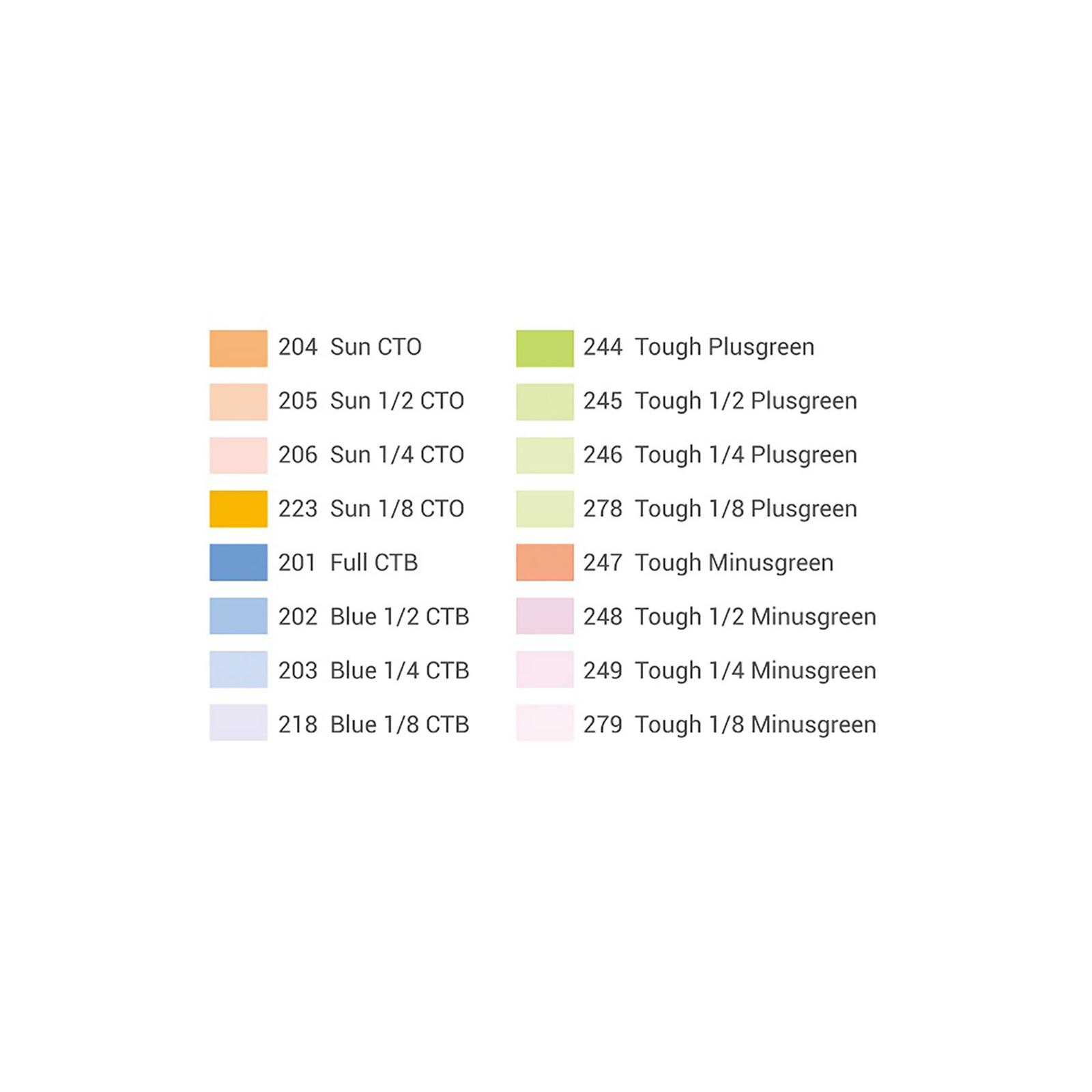 GODOX SA-11C Color gels kit für S30