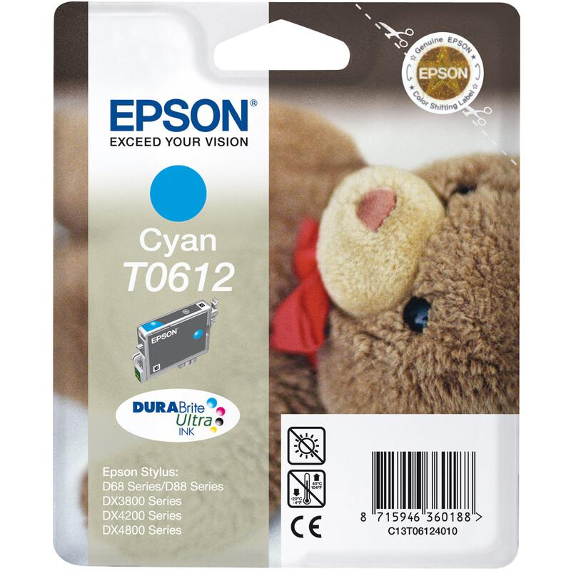 Epson T0612 Tinte Cyan 8ml