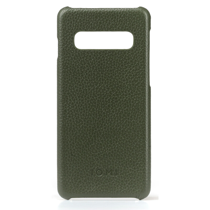 IOMI Backcover Samsung Galaxy S10 olivegrün