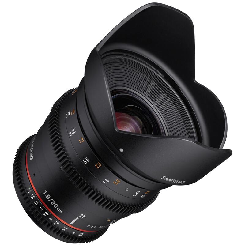 Samyang MF 20/1,9 Video DSLR Sony E