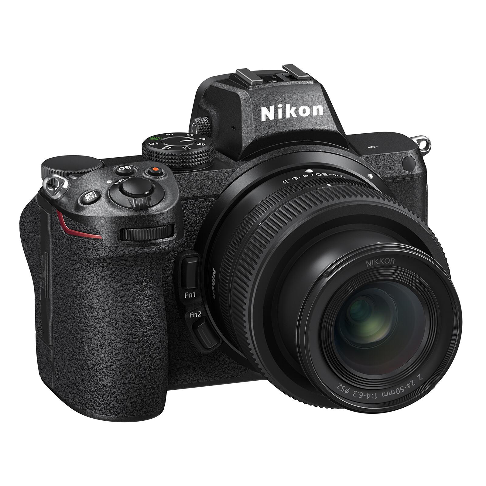 Nikon Z5 + Nikkor Z 24-50/4,0-6,3 + FTZ  Objektiv Adapter
