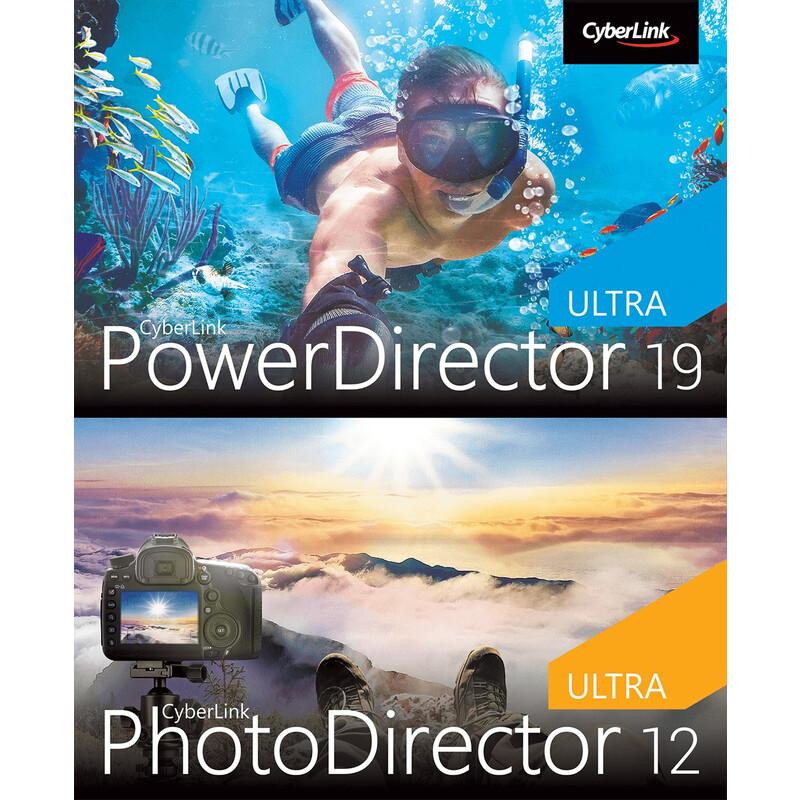 CyberLink PowerDirector 19 Ultra & PhotoDirector 12 Ultra Du