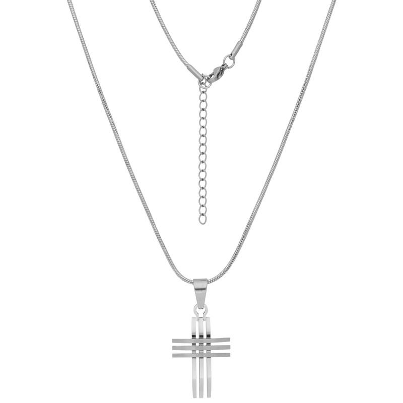 Stahlkette Kreuz