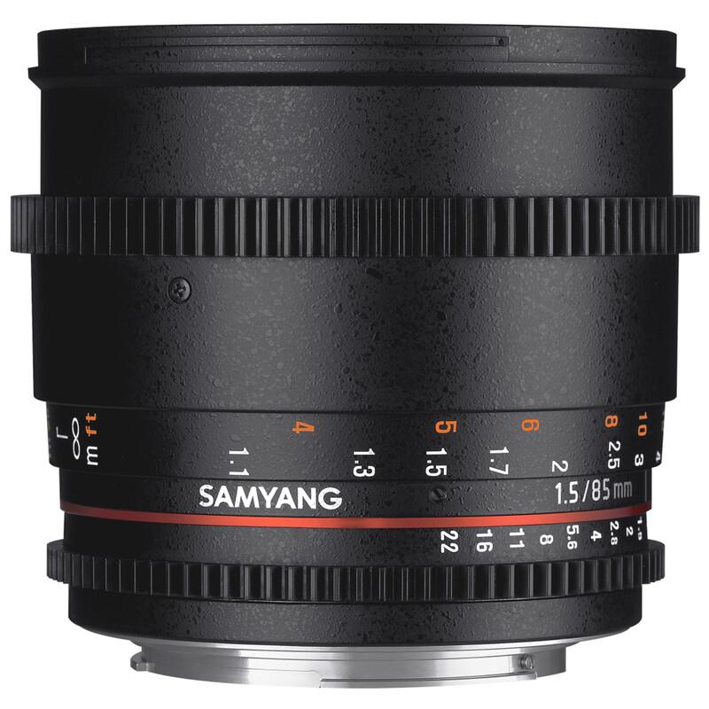 Samyang MF 85/1,5 Video DSLR II Sony E