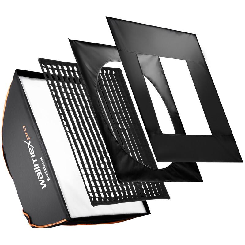 walimex pro Softbox PLUS OL 50x70cm Visatec