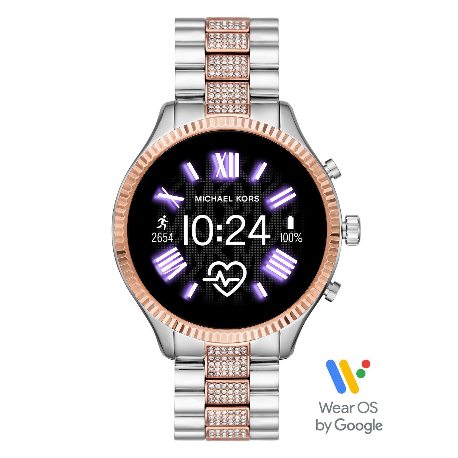 Michael Kors Smartwatch Lexington 2 rosegold/silber
