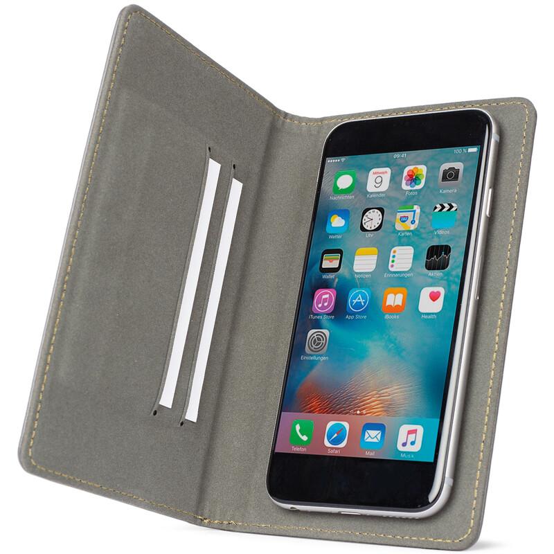 Axxtra Book Tasche Size XL bis 152x81x11mm mud
