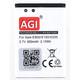AGI Akku Samsung GT-E2600 800mAh