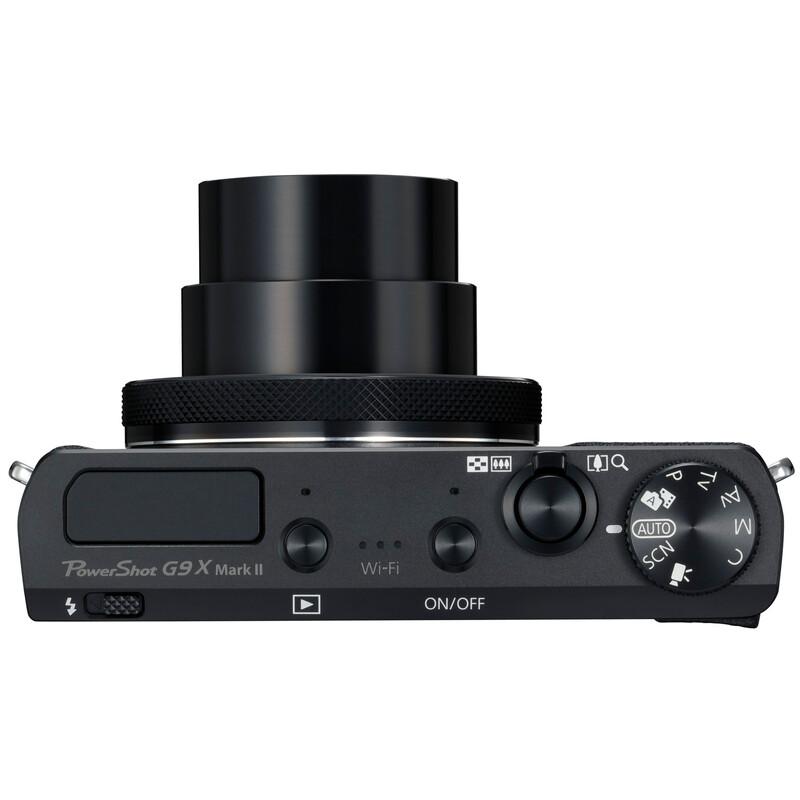 Canon PowerShot G9 X Mark II Schwarz