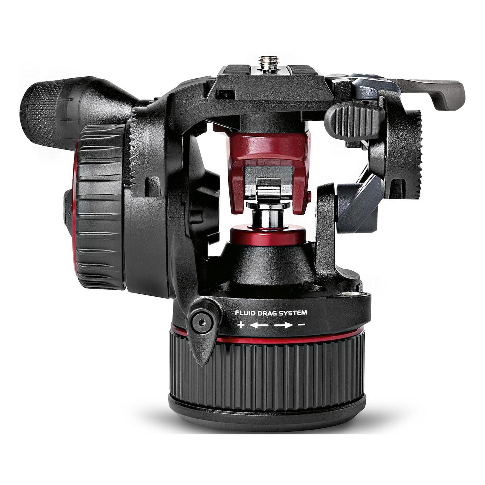 Manfrotto Nitrotech N8 Fluid-Video-Kopf mit Counterbalance