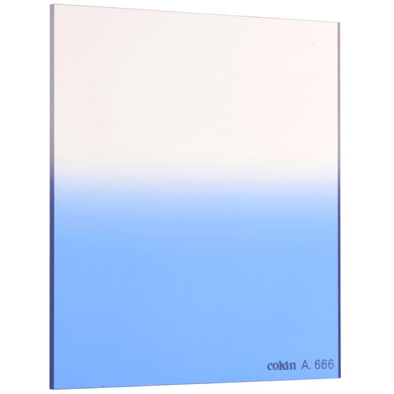 Cokin A666 Verlauf leuchtend Blau 1