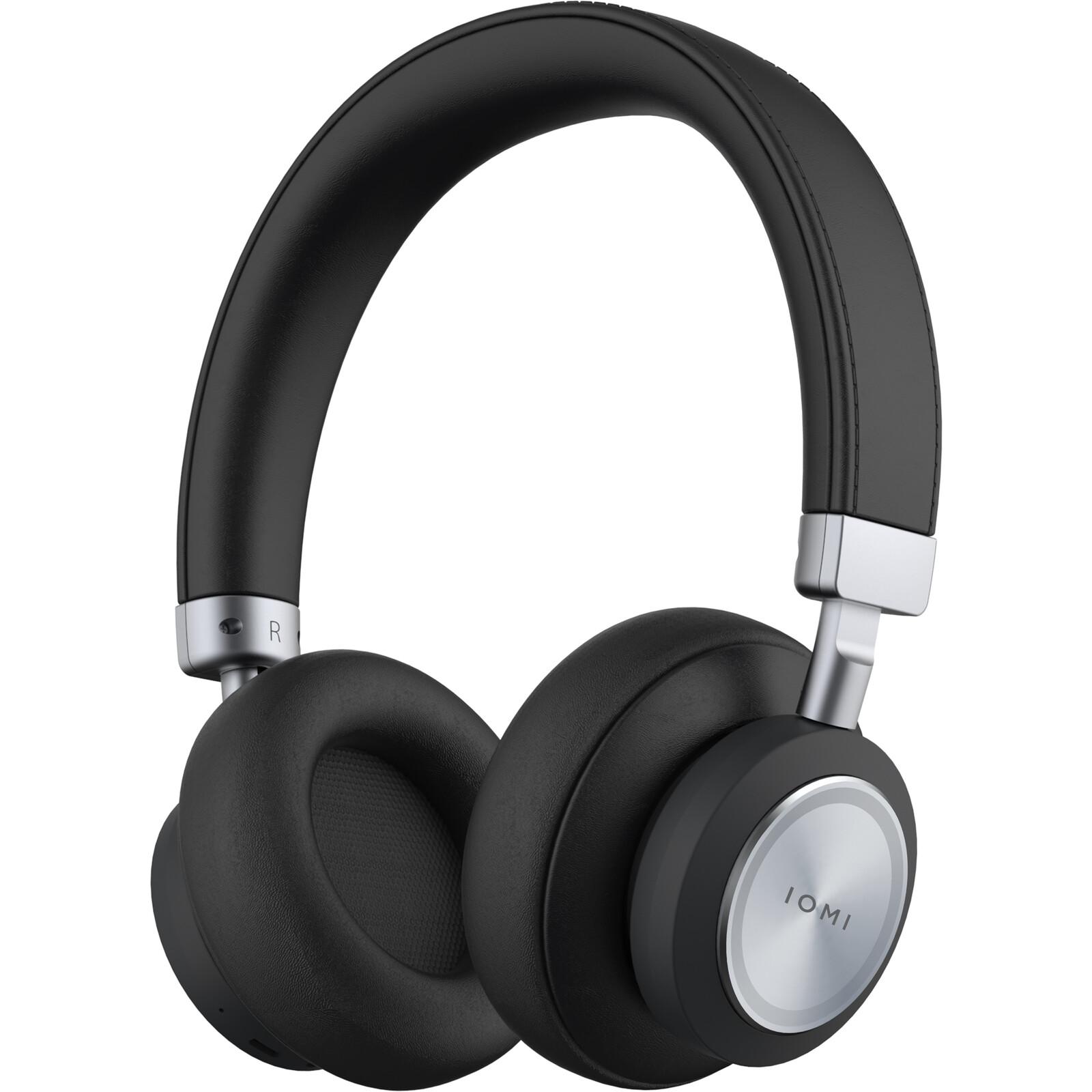 IOMI BT Over Ear Headphones schwarz