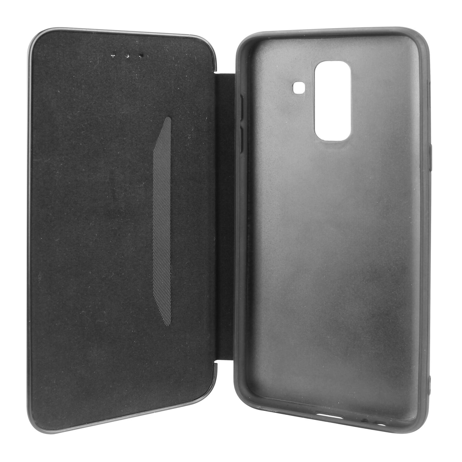 Felixx Book Tasche Lyon Samsung Galaxy A8 Grau