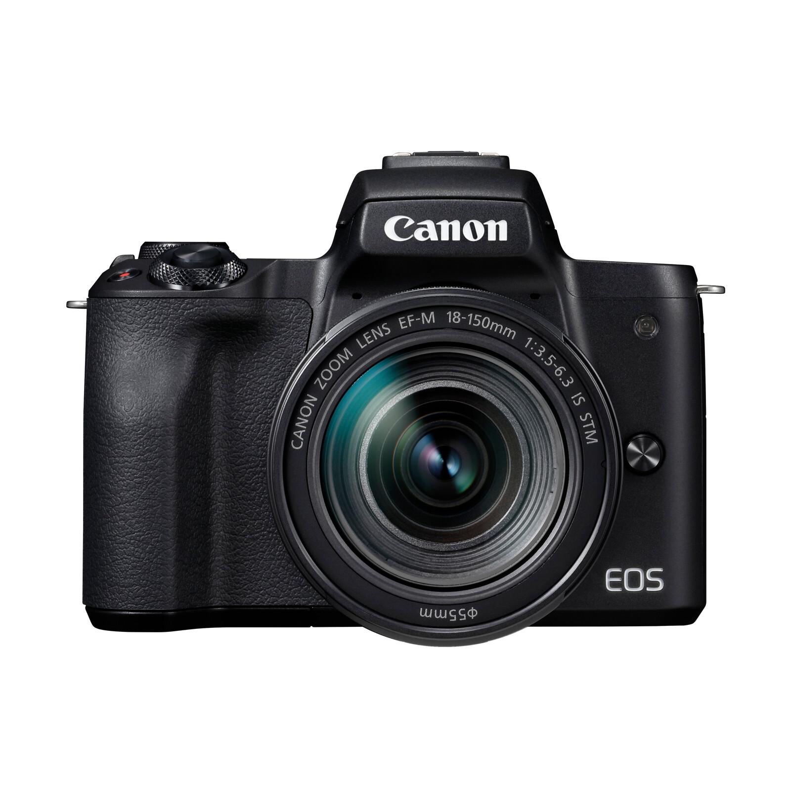 Canon PARS SIP EOS M50 + EF-M 18-150/3,5-6,3 IS STM Schwarz