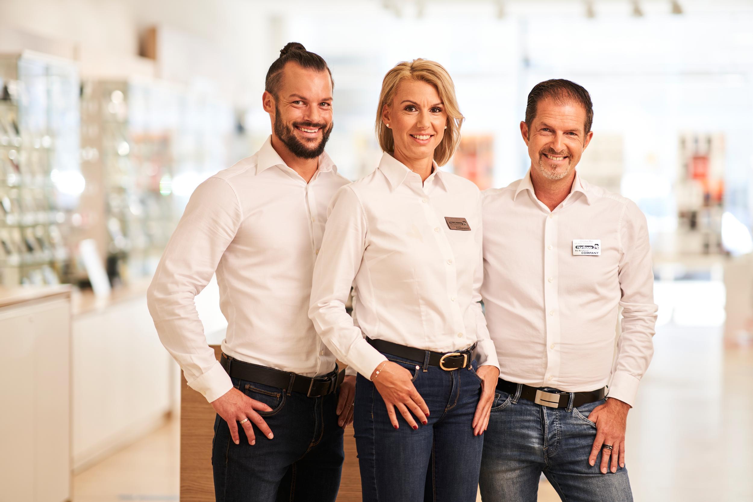Gruppenfoto Hartlauer Mitarbeiter